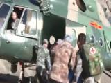 游客遇险直升机紧急救援